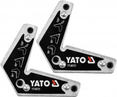 Магнитные уголки для сварки YATO 98 x 57 x 75 x 113 мм Ø5 мм 10 кг 2 шт (YT-08721)