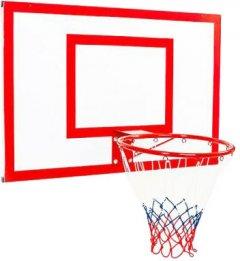 Баскетбольный щит Newt Jordan с кольцом и сеткой 1200 х 900 мм (NE-MBAS-3-450G)