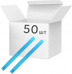 Набор линеек KLERK пластиковых 40 см Голубых 50 шт (Я45154_KL0540_50)