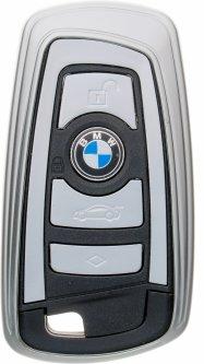 Чехол для автоключа LaManche BMW Silver (BMW-A01K_slv)