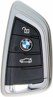 Чехол для автоключа LaManche BMW Silver (BMW-B01K_slv)