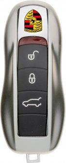 Чехол для автоключа LaManche Porsche Silver (PSC-A01K_slv)