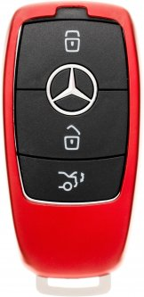 Чехол для автоключа LaManche Mercedes Red (Benz-B01K_rd)