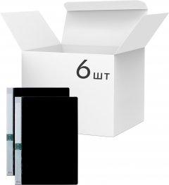 Набор пластиковых папок KLERK А4 на 10 файлов Черных 6 шт (Я45158_AB10AK_6_черный)