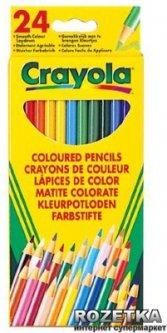 24 цветных карандаша Crayola (3624) (5010065036246)