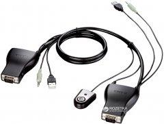 KVM-переключатель D-Link KVM-221 2-портовый USB (KVM-221)