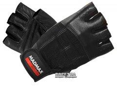 Перчатки для фитнеса MadMax Classic MFG 248 (M) Черный (8591325002265)