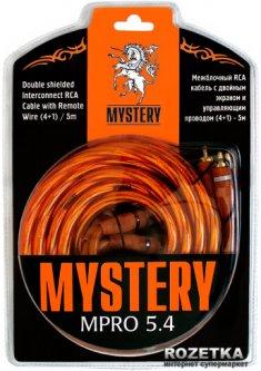 Межблочный RCA кабель Mystery MPRO 5.4