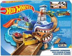 Автотрек Hot Wheels Охота на акулу серии Измени цвет (BGK04)