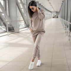 Спортивный женский костюм Anika Djeniffer S кофейный