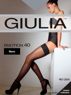 Чулки Giulia Emotion 40 Den 3/4 р Nero (4820040118895)