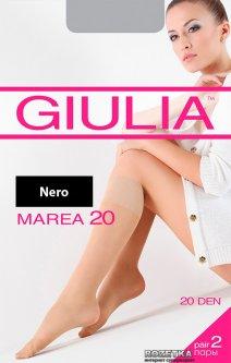 Гольфы Giulia Marea Gambaletto 20 Den 2 пары Nero (4820040120720)