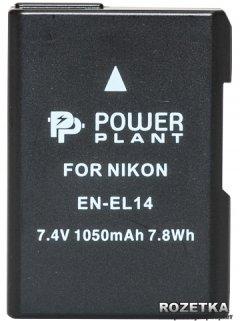 Aккумулятор PowerPlant для Nikon EN-EL14 Chip (D3100, D3200, D5100) (DV00DV1290)