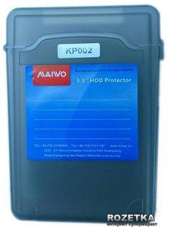 """Контейнер Maiwo защитный для HDD 3.5"""" Grey (KP002)"""