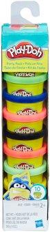 Набор пластилина Hasbro Play-Doh 10 баночек в блистере Play-Doh (22037)