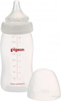Бутылочка для кормления Pigeon SofTouch Peristaltic Plus 240 мл PP (4902508785402)