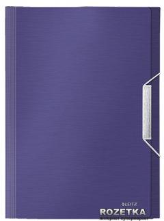 Папка с отделениями Leitz Style А4 6 отделений Синяя (39570069)