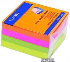 Стикеры Economix 75x75 мм 400 листов 4 цвета (20949)