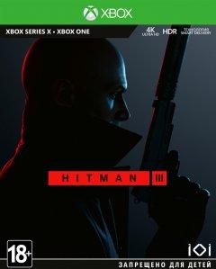 Игра Hitman 3 Standard Edition для Xbox Series One, Xbox Series S (Blu-ray диск, English version)