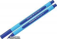 Набор масляных ручек 10 шт Schneider Slider Edge M Синий 0.7 мм Голубой корпус (152103)