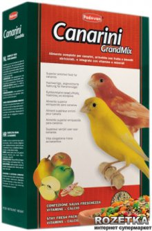 Повседневный корм для канареек Padovan GrMix Canarini 400 г (PP00275)
