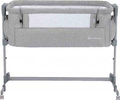 Приставная кроватка-люлька Kinderkraft Neste Up Grey Light Melange (5902533915279)