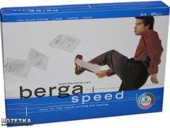 Бумага офисная Berga Speed А4 80 г/м2 500 листов Белая (6416764000813)