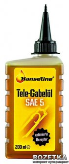 Масло HanselineTele-Gabeloil SAE5 для вилок и амортизаторов 200 мл (305502)