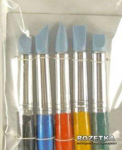 Набор кистей для пастели KOLOS 9027-5 Rubber 5 шт (4823064903034)