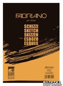 Склейка для эскизов Fabriano Schizzi Sketch A4 21 x 29.7 см 90 г/м² 120 листов (8001348171522)