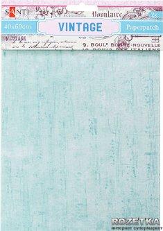 Бумага для декупажа Santi Vintage 40х60 см 2 листа (952479) (5009079524795)