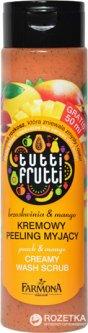Пилинг для тела сахарный Farmona Tutti-Frutti Персик & Манго 500 мл (5900117097021)
