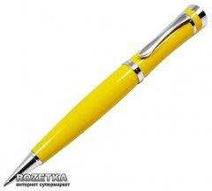 Ручка шариковая Gianni Terra Yellow Черная 1 мм Желтый корпус в футляре (HH1380/B)