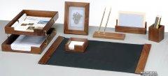 Набор настольный деревянный Bestar 7 предметов Орех (7281WDN)