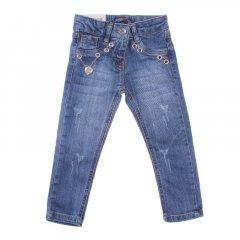 Штани джинсові для дівчинки SERCINO 59692 116 см синій (409883)