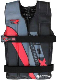 Жилет с утяжелителями RDX 18 кг Black-Red (540_20302)