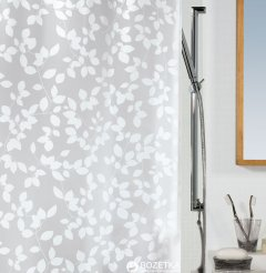 Шторка для ванной Spirella Blatt 180x200 Peva Белая (10.08183)