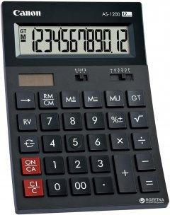 Калькулятор электронный Canon 12-разрядный AS-1200 (4599B001AA)