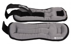 Утяжелители LiveUp Wrist/Ankle Weights 2 шт по 1 кг Black-Grey (LS3049-1)