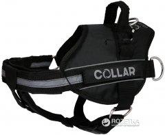 Шлея Collar DogExtremе Police N3 со сменной надписью 55-75 см Черная (07061)