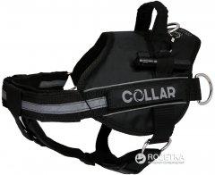 Шлея Collar DogExtremе Police N4 с фонариком 70-100 см Черная (07071)