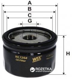 Фильтр масляный WIX Filters WL7254 - FN OP643/3