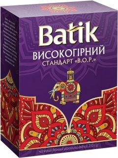 Чай черный байховый Batik Высокогорный мелколистовой 250 г (4820015831439)