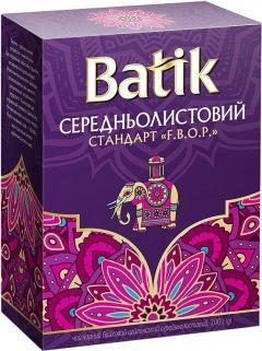 Чай черный байховый Batik Цейлонский среднелистовой 200 г (4820015831491)