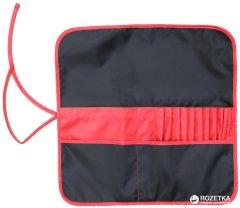 Пенал для кистей Rosa Studio 37 х 37 см Асфальт с красным (4823086703445)