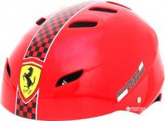 Шлем Ferrari FAH50 размер М 56-58 см регулируемый Красный (6947045677139)