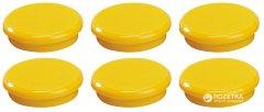 Набор магнитов Dahle 24 мм 6 шт Желтый (4007885944241)