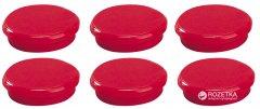 Набор магнитов Dahle 24 мм 6 шт Красный (4007885934242)