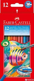 Набор акварельных карандашей Faber-Castell 12 шт (4005401144137)