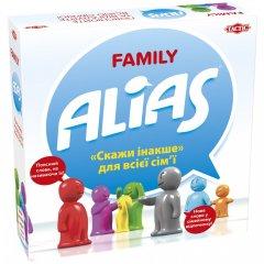 Настольная игра Tactic Family Alias (54336) (6416739543369)